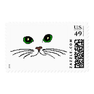Cat's Face Postage