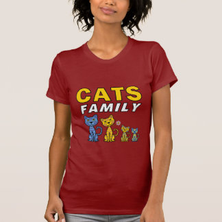 Cats Family T Shirt
