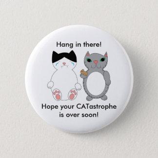 Cats Feel Better Encouragement Persoanlize Button