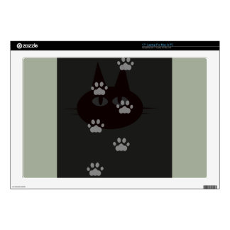 cats footprint decal for laptop