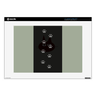 cats footprint decals for laptops