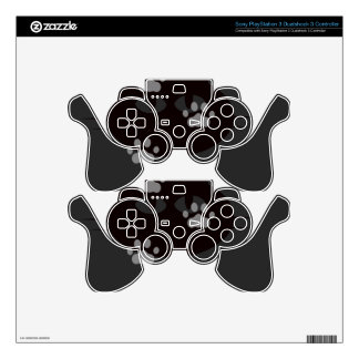 cats footprint skin for PS3 controller