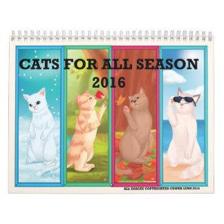 CATS FOR ALL SEASONS CALENDAR