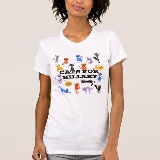 Cats For Hillary Political T-shirt for Women