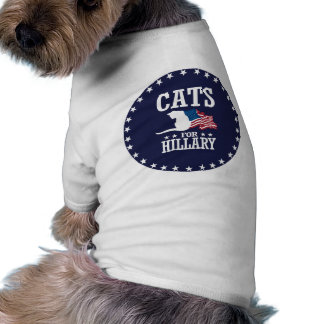 CATS FOR HILLARY SHIRT