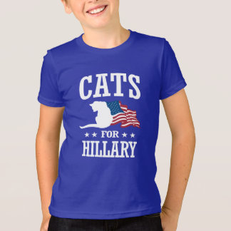 CATS FOR HILLARY T-Shirt
