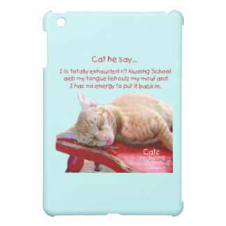 Cats for Nursing Students - Exhausted Case For The iPad Mini