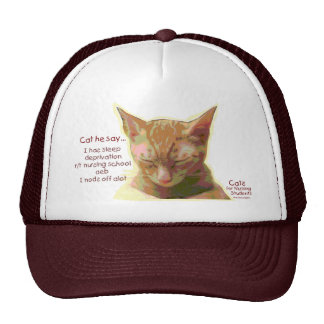 Cats for Nursing Students - Sleep Deprivation Hat