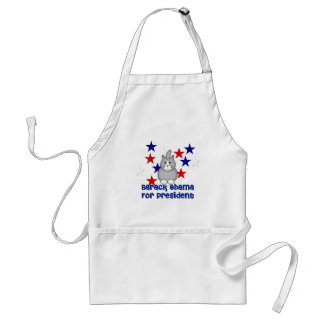 Cats For Obama Adult Apron