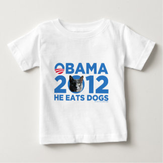 CATS FOR OBAMA BABY T-Shirt
