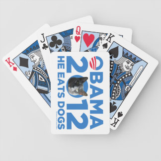 Cats For Obama Bicycle Playing Cards