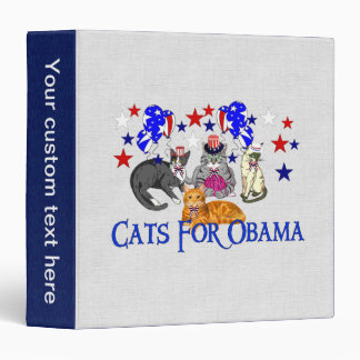 CATS FOR OBAMA BINDER
