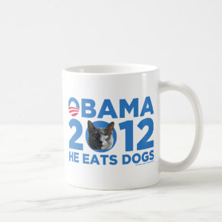 CATS FOR OBAMA COFFEE MUG