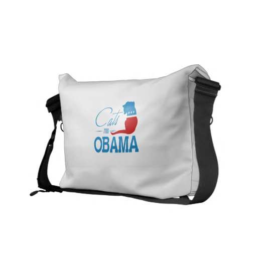 Cats for Obama - Commuter Bag