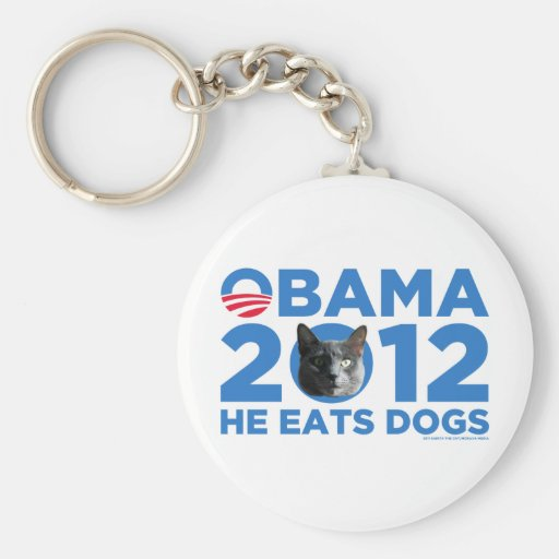 Cats For Obama Key Chains