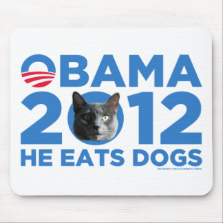 Cats For Obama Mouse Pad