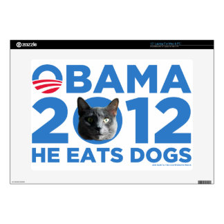 Cats For Obama Laptop Decal