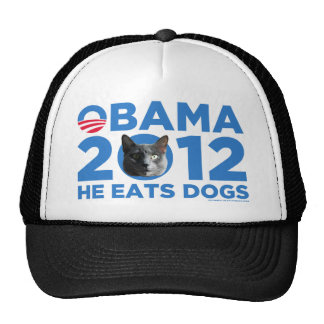 CATS FOR OBAMA TRUCKER HAT