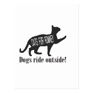 Cats For Romney Post Card