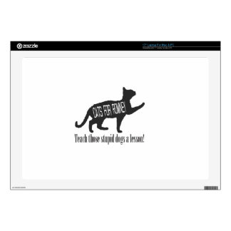 """Cats For Romney 17"""" Laptop Skins"""