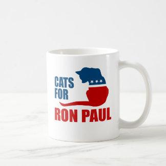 CATS FOR RON PAUL COFFEE MUG