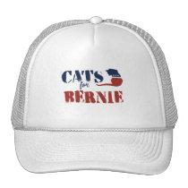 Cats for Sanders Trucker Hat