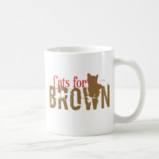Cats for Scott Brown - Vote New Hampshire Senate Coffee Mug