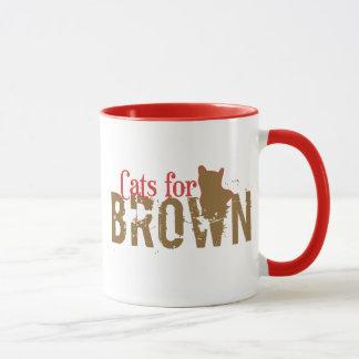 Cats for Scott Brown - Vote New Hampshire Senate Mug