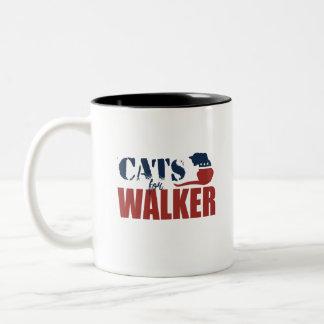 Cats for Scott Walker Coffee Mugs