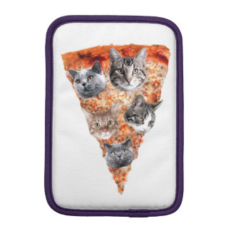 Cats For the Pizza-Lover iPad Mini Sleeves