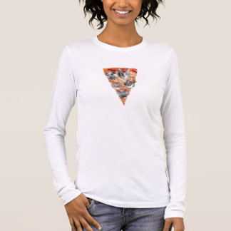 Cats For the Pizza-Lover Long Sleeve T-Shirt