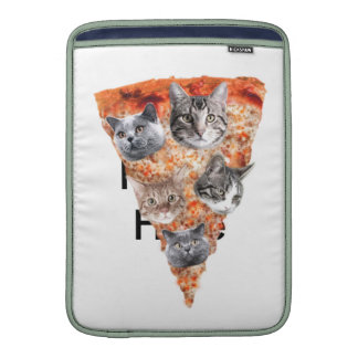 Cats For the Pizza-Lover MacBook Sleeves