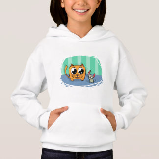 Cat's friend is a mouse hoodie