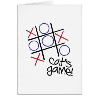 Cat's Game Cards