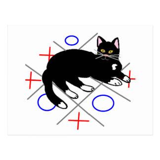 Cat's Game Postcard