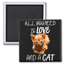 Cats gift cats parents family magnet