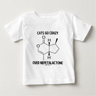 Cats Go Crazy Over Nepetalactone Cat Attitude Baby T-Shirt