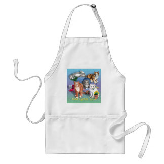 Cats Gone Wild Apron