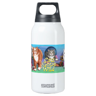 Cats Gone Wild SIGG Thermo 0.3L Insulated Bottle