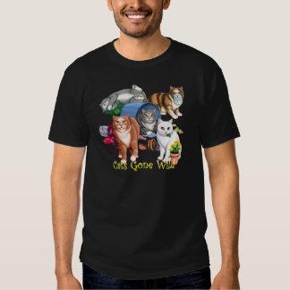 Cats Gone Wild T-shirt