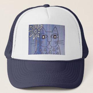 """Cat's Got the Blues"" Trucker Hat"