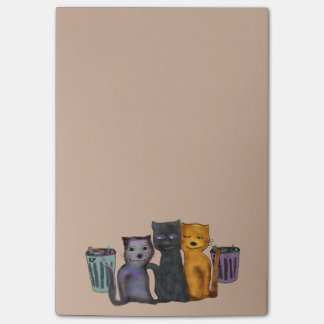 Cats Hangin Out Post-it® Notes