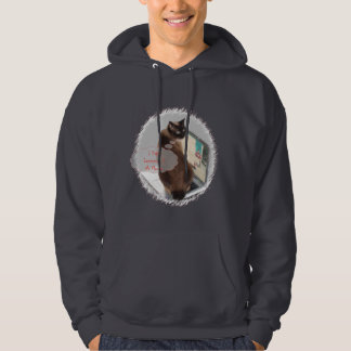 Cats Hate Laptops Hoodie