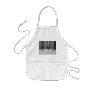 Cats Have A Snowball Fight Aprons