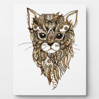 Cat's Head 3 Plaque