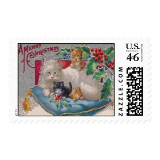 Cats &a11/3/12mp;amp; Holly Stamp