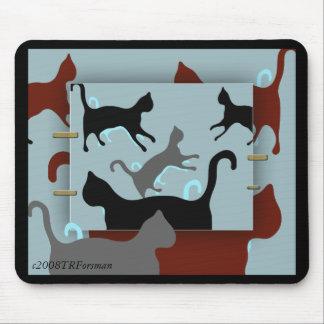 Cats: I love cats design Mousepad