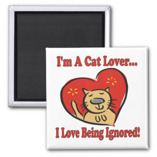 Cats: I'm A Cat Lover Magnet