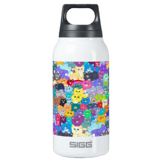 Cats image.jpg insulated water bottle