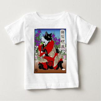 Cats in Kimono: Samurai Gardeners -- Moths Baby T-Shirt